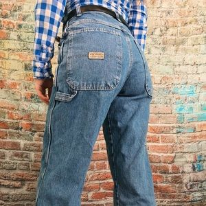 Cropped Wrangler Carpenter Jeans